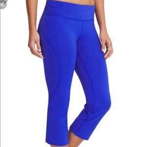 EUC Athleta bright blue leggings size XS